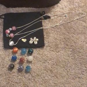 Jewelry - New Fire Bead Necklaces